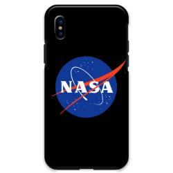 COVER NASA NERO per iPhone 3gs 4s 5/5s/c 6s 7 8 Plus X iPod Touch 4/5/6 iPod nano 7