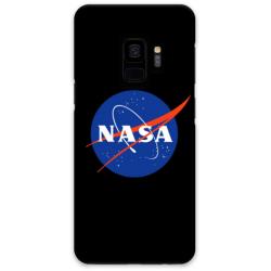 COVER NASA NERO per ASUS HUAWEI LG SONY WIKO NOKIA HTC BLACKBERRY