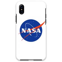 COVER NASA BIANCO per iPhone 3gs 4s 5/5s/c 6s 7 8 Plus X iPod Touch 4/5/6 iPod nano 7