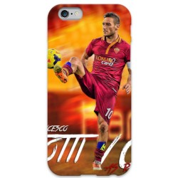 COVER TOTTI 10 per iPhone 3g/3gs 4/4s 5/5s/c 6/6s Plus iPod Touch 4/5/6 iPod nano 7
