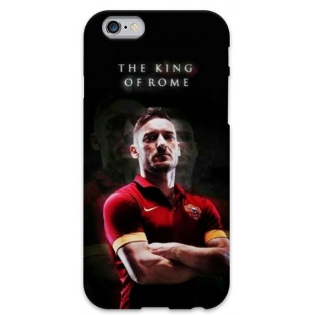 COVER TOTTI KING per iPhone 3g/3gs 4/4s 5/5s/c 6/6s Plus iPod Touch 4/5/6 iPod nano 7