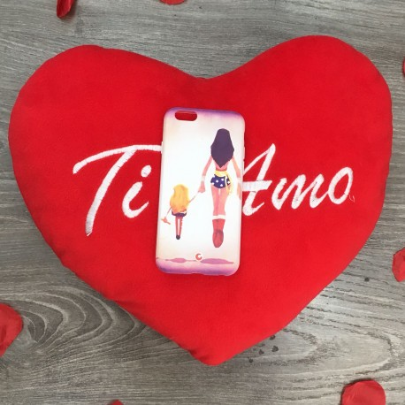 COVER FESTA DELLA MAMMA 1 per iPhone 3gs 4s 5/5s/c 6s 7 8 Plus X iPod Touch 4/5/6 iPod nano 7