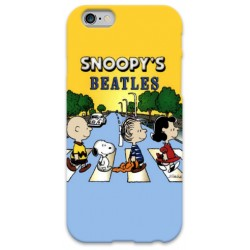 COVER SNOOPY BEATLES per iPhone 3g/3gs 4/4s 5/5s/c 6/6s Plus iPod Touch 4/5/6 iPod nano 7