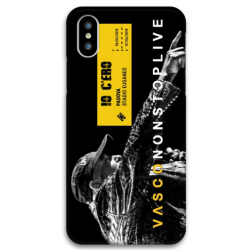 COVER VASCO ROSSI NONSTOPLIVE TOUR 2018 PADOVA per iPhone 3gs 4s 5/5s/c 6s 7 8 Plus X iPod Touch 4/5/6 iPod nano 7