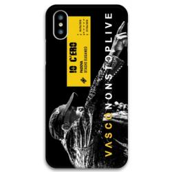COVER VASCO ROSSI NONSTOPLIVE TOUR 2018 PADOVA per iPhone 3gs 4s 5/5s/c 6s 7 8 Plus X iPod Touch 4/5/6 iPod nano 7