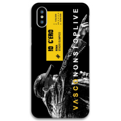 COVER VASCO ROSSI NONSTOPLIVE TOUR 2018 ROMA per iPhone 3gs 4s 5/5s/c 6s 7 8 Plus X iPod Touch 4/5/6 iPod nano 7