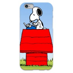 COVER SNOOPY SCRIVE per iPhone 3g/3gs 4/4s 5/5s/c 6/6s Plus iPod Touch 4/5/6 iPod nano 7