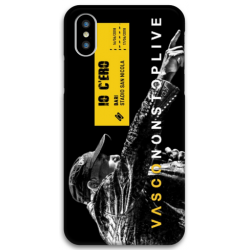 COVER VASCO ROSSI NONSTOPLIVE TOUR 2018 BARI per iPhone 3gs 4s 5/5s/c 6s 7 8 Plus X iPod Touch 4/5/6 iPod nano 7