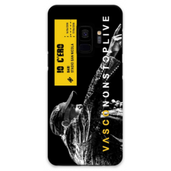COVER VASCO ROSSI NONSTOPLIVE TOUR 2018 BARI per SAMSUNG GALAXY SERIE S, S MINI, A, J, NOTE, ACE, GRAND NEO, PRIME, CORE, MEGA