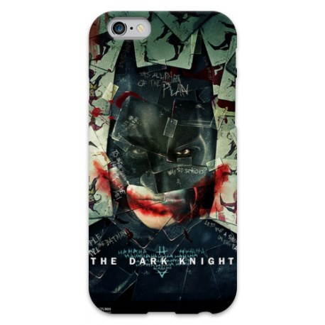 COVER BATMAN DARK KNIGHT per iPhone 3g/3gs 4/4s 5/5s/c 6/6s Plus iPod Touch 4/5/6 iPod nano 7