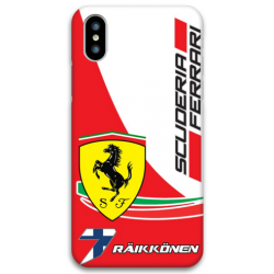 COVER RAIKKONEN SCUDERIA FERRARI F1 per iPhone 3gs 4s 5/5s/c 6s 7 8 Plus X iPod Touch 4/5/6 iPod nano 7