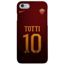 COVER TOTTI MAGLIA 10 per iPhone 3gs 4s 5/5s/c 6s 7 8 Plus X iPod Touch 4/5/6 iPod nano 7
