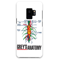COVER GREY'S ANATOMY TUMORE per SAMSUNG GALAXY SERIE S, S MINI, A, J, NOTE, ACE, GRAND NEO, PRIME, CORE, MEGA