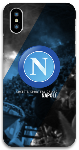 COVER SSC NAPOLI per iPhone 3gs 4s 5/5s/c 6s 7 8 Plus X iPod Touch 4/5/6 iPod nano 7