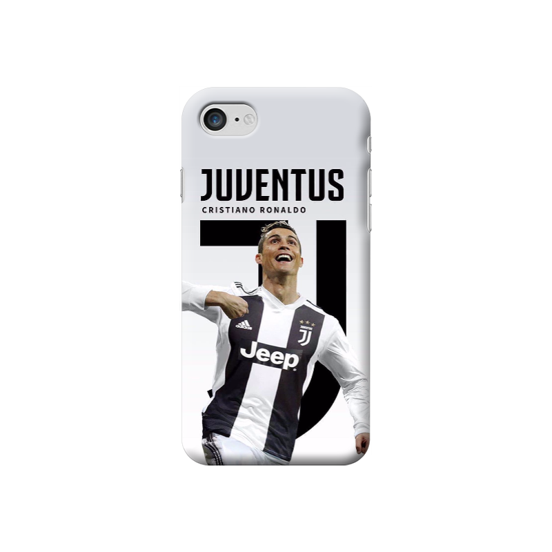 COVER CRISTIANO RONALDO CR7 JUVENTUS per iPhone 3gs 4s 5/5s/c 6s 7 8 Plus X iPod Touch 4/5/6 iPod nano 7