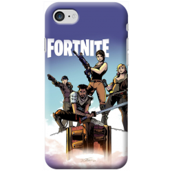COVER FORTNITE per iPhone 3gs 4s 5/5s/c 6s 7 8 Plus X iPod Touch 4/5/6 iPod nano 7