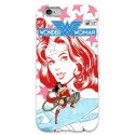 COVER WONDER WOMAN VINTAGE per iPhone 3g/3gs 4/4s 5/5s/c 6/6s Plus iPod Touch 4/5/6 iPod nano 7