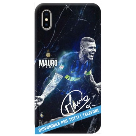 COVER ICARDI AUTOGRAFO INTER per APPLE IPHONE SAMSUNG GALAXY HUAWEI ASUS LG ALCATEL SONY WIKO VODAFONE MICROSOFT NOKIA