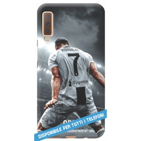 COVER RONALDO JUVE SPALLE CR7 per APPLE IPHONE SAMSUNG GALAXY HUAWEI ASUS LG ALCATEL SONY WIKO VODAFONE MICROSOFT NOKIA