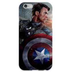 COVER CAPITAN AMERICA per iPhone 3g/3gs 4/4s 5/5s/c 6/6s Plus iPod Touch 4/5/6 iPod nano 7