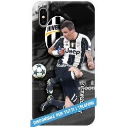 COVER mandzukic 17 JUVE per APPLE IPHONE SAMSUNG GALAXY HUAWEI ASUS LG ALCATEL SONY WIKO VODAFONE MICROSOFT NOKIA