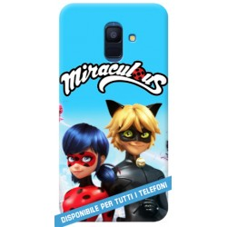 COVER miraculous Ladybug e Chat Noir per APPLE IPHONE SAMSUNG GALAXY HUAWEI ASUS LG ALCATEL SONY WIKO VODAFONE MICROSOFT NOKIA