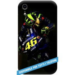 COVER VALENTINO ROSSI YAMAHA per APPLE IPHONE SAMSUNG GALAXY HUAWEI ASUS LG ALCATEL SONY WIKO VODAFONE