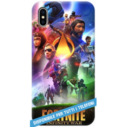 COVER FORTNITE 4 per APPLE IPHONE SAMSUNG GALAXY HUAWEI ASUS LG ALCATEL SONY WIKO XIOMI VODAFONE