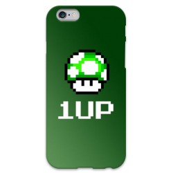 COVER MARIO BROS 1UP per iPhone 3g/3gs 4/4s 5/5s/c 6/6s Plus iPod Touch 4/5/6 iPod nano 7