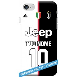 COVER JUVE MAGLIA NOME E NUMERO 2019-20 per APPLE IPHONE SAMSUNG GALAXY HUAWEI ASUS LG ALCATEL SONY WIKO VODAFONE