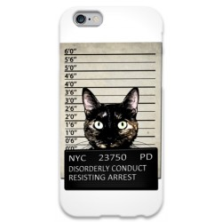 COVER GATTO RICERCATO per iPhone 3g/3gs 4/4s 5/5s/c 6/6s Plus iPod Touch 4/5/6 iPod nano 7