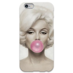 COVER MARILYN MONROE BUBBLEGUM per iPhone 3g/3gs 4/4s 5/5s/c 6/6s Plus iPod Touch 4/5/6 iPod nano 7