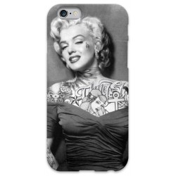 COVER MARILYN MONROE TATTOO 2 per iPhone 3g/3gs 4/4s 5/5s/c 6/6s Plus iPod Touch 4/5/6 iPod nano 7