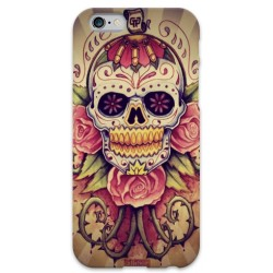COVER TESCHIO MESSICANO VINTAGE per iPhone 3g/3gs 4/4s 5/5s/c 6/6s Plus iPod Touch 4/5/6 iPod nano 7