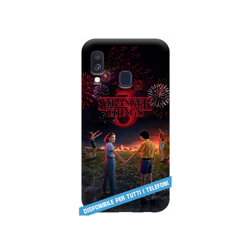 COVER Stranger Things 3 per APPLE IPHONE SAMSUNG GALAXY HUAWEI ASUS LG ALCATEL SONY WIKO XIAOMI - covermania