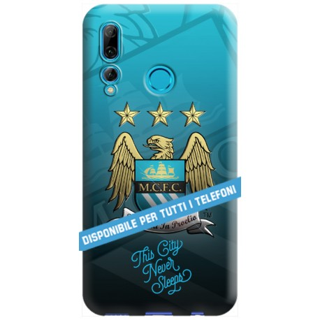 COVER MANCHESTER CITY per APPLE IPHONE SAMSUNG GALAXY HUAWEI ASUS LG ALCATEL SONY WIKO XIAOMI - covermania