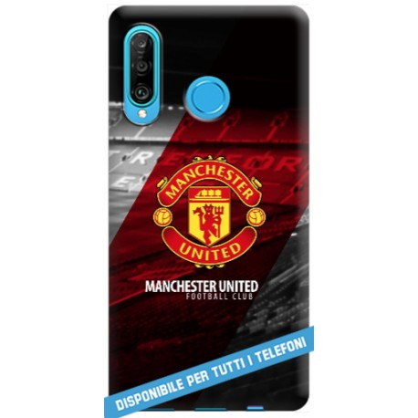 COVER Manchester United per APPLE IPHONE SAMSUNG GALAXY HUAWEI ASUS LG ALCATEL SONY WIKO XIAOMI