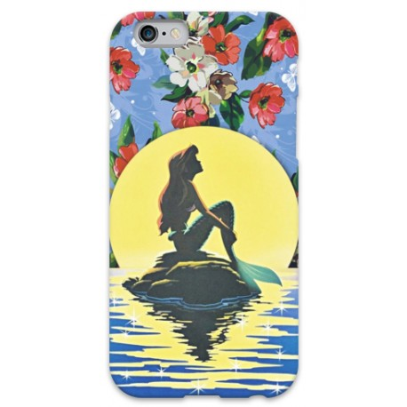COVER AROEL SIRENETTA TRAMONTO per iPhone 3g/3gs 4/4s 5/5s/c 6/6s Plus iPod Touch 4/5/6 iPod nano 7