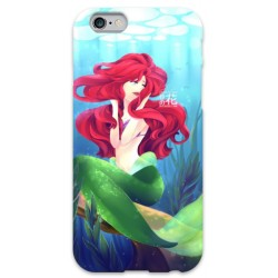 COVER ARIEL SIRENETTA JAPAN per iPhone 3g/3gs 4/4s 5/5s/c 6/6s Plus iPod Touch 4/5/6 iPod nano 7