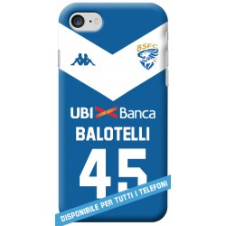 COVER BALOTELLI MAGLIA BRESCIA per APPLE IPHONE SAMSUNG GALAXY HUAWEI ASUS LG ALCATEL SONY WIKO XIAOMI