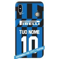 COVER MAGLIA NOME NUMERO INTER 2019-20 per APPLE IPHONE SAMSUNG GALAXY HUAWEI ASUS LG ALCATEL SONY WIKO XIAOMI