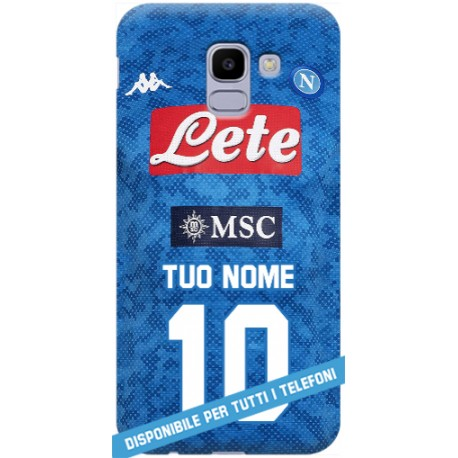 COVER MAGLIA NAPOLI NOME 2019-20 per APPLE IPHONE SAMSUNG GALAXY HUAWEI ASUS LG ALCATEL SONY WIKO XIAOMI
