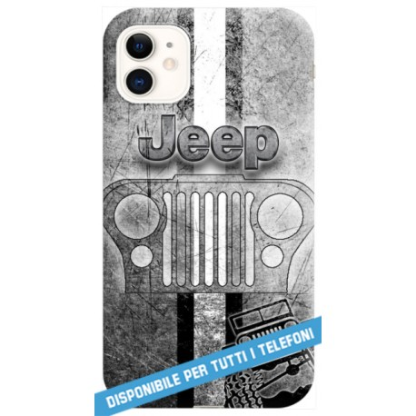 COVER JEEP WRANGLER RENEGADE CHEROKEE per APPLE IPHONE SAMSUNG GALAXY HUAWEI ASUS LG ALCATEL SONY WIKO VODAFONE XIAOMI
