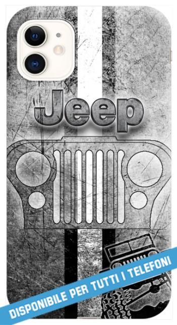 COVER JEEP WRANGLER RENEGADE CHEROKEE per APPLE IPHONE SAMSUNG
