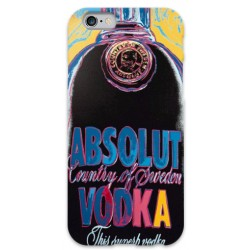 COVER ABSOLUT VODKA NERO per iPhone 3g/3gs 4/4s 5/5s/c 6/6s Plus iPod Touch 4/5/6 iPod nano 7
