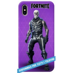 COVER FORTNITE skull trooper per APPLE IPHONE SAMSUNG GALAXY HUAWEI ASUS LG ALCATEL SONY WIKO XIAOMI