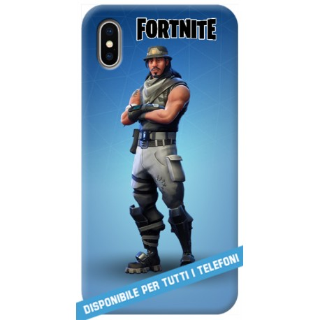 COVER FORTNITE infiltrator per APPLE IPHONE SAMSUNG GALAXY HUAWEI ASUS LG ALCATEL SONY WIKO XIAOMI