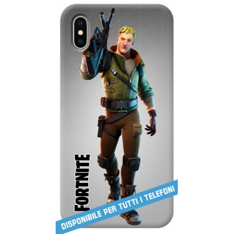 COVER FORTNITE jones per APPLE IPHONE SAMSUNG GALAXY HUAWEI ASUS LG ALCATEL SONY WIKO XIAOMI