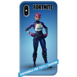 COVER FORTNITE brite bomber per APPLE IPHONE SAMSUNG GALAXY HUAWEI ASUS LG ALCATEL SONY WIKO XIAOMI