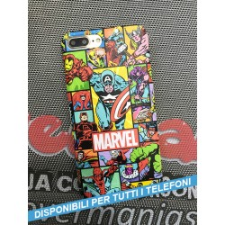 COVER MARVEL COLLAGE per APPLE IPHONE SAMSUNG GALAXY HUAWEI ASUS LG ALCATEL SONY WIKO XIAOMI